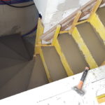 Escalier béton 1/2 tournant mercin constructions soissons